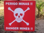Many areas are affected by ERW, land mines and the land mine threat